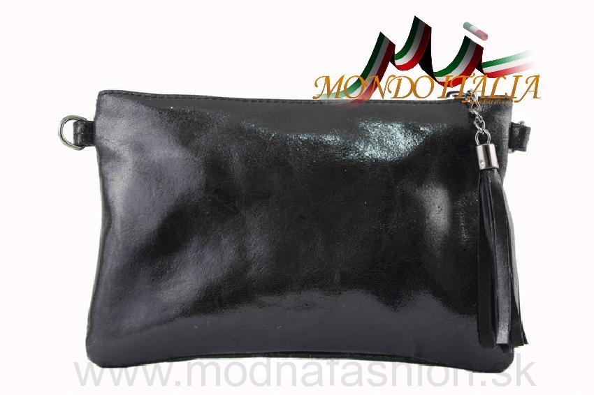 c96726c54e8 Kožená kabelka 750 čierna