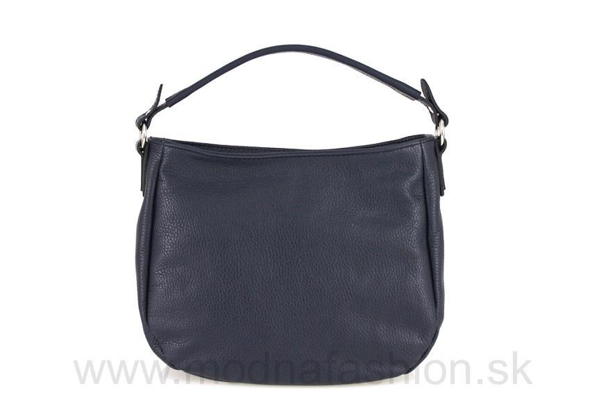 Kožená kabelka modrá 5194e76a2ba