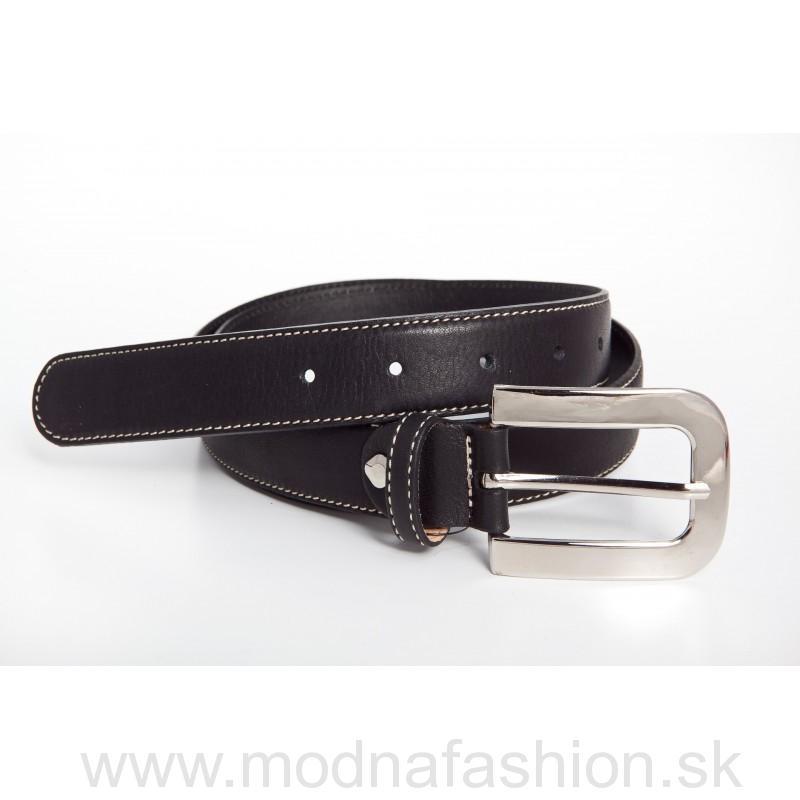 ebd490121 OPASKY | Taliansky dámsky kožený opasok čierny | Kabelky, peňaženky ...