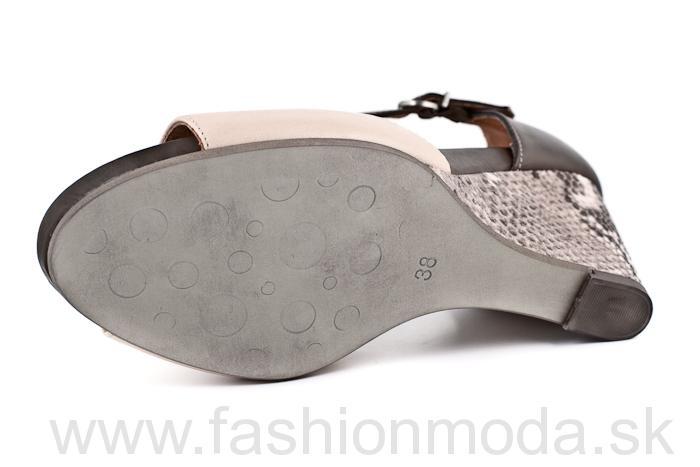 01e393349517 Kompletné špecifikácie · Na stiahnutie · Súvisiaci tovar. Dámska kožená  letná obuv na kline