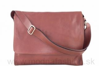1fb5908d7d Talianska kožená taška cez rameno hnedá empty