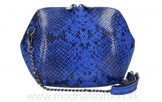 Kožená kabelka na rameno SERENA azurovo modrá empty ae6db2d851b